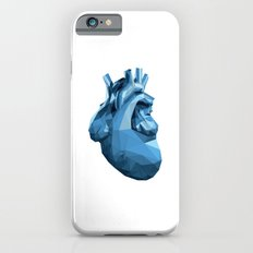 Heart - Blue Slim Case iPhone 6s