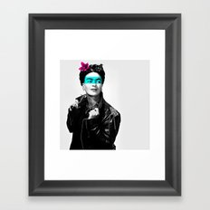 Rocker Frida Framed Art Print
