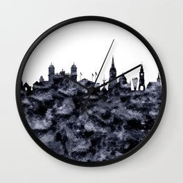 Christchurch skyline New Zealand Wall Clock