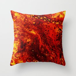 Torched Throw Pillow