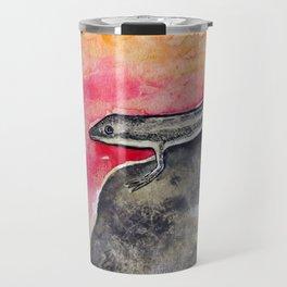 LIZARD FLOWER LOVE Travel Mug