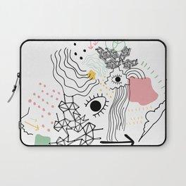 Eye of the Doodle Laptop Sleeve