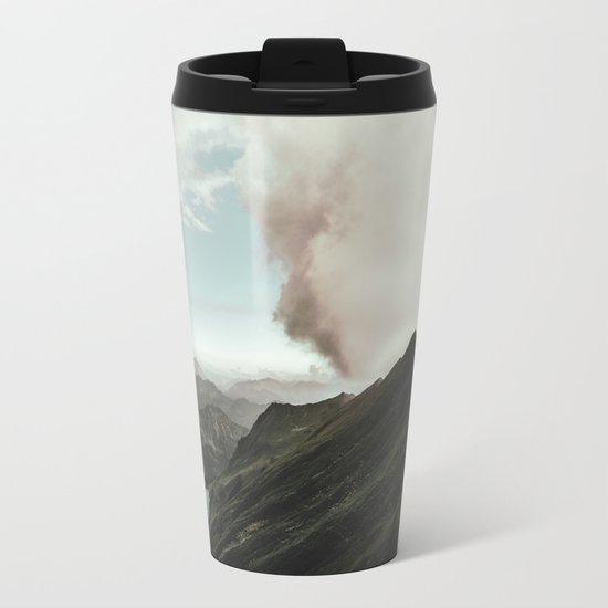 Far Views - Landscape Photography Metal Travel Mug