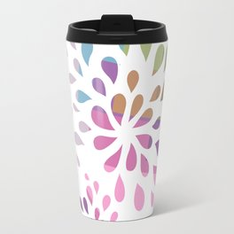 Colourful drops Travel Mug