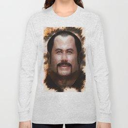 John Travolta - Caricature Long Sleeve T-shirt
