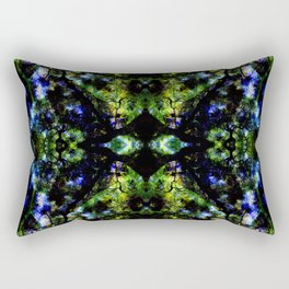 Project 130.3 - Abstract Photomontage Rectangular Pillow