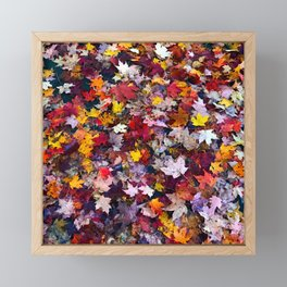 Autumn Leaves 1 Framed Mini Art Print