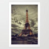 La Tour Eiffel_02 Art Print