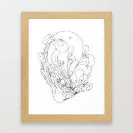 Perpetuating Hate Framed Art Print