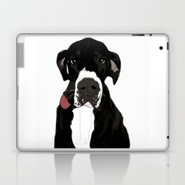 Great Dane Cutie Laptop & iPad Skin