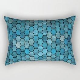 Glitter Tiles III Rectangular Pillow