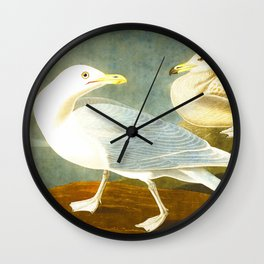 Burgomaster Gull Wall Clock