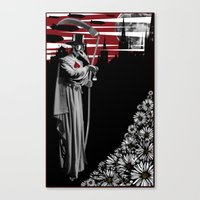 doctor Canvas Prints featuring DOCTOR by BLEEDINGHEART