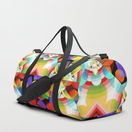 Prismatic Rainbow Duffle Bag