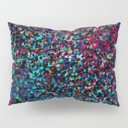DAZZLE DARKER - Low-key rainbow sparkle Pillow Sham