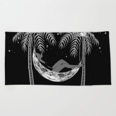 Summer Nights Beach Towel