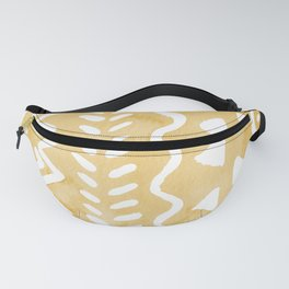 Loose bohemian pattern - yellow Fanny Pack