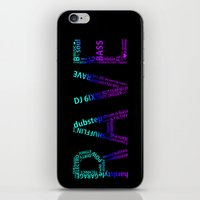 rave iPhone & iPod Skins featuring Rave  by Illuminany