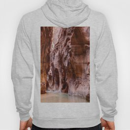 The Narrows Zion National Park Utah Hoody