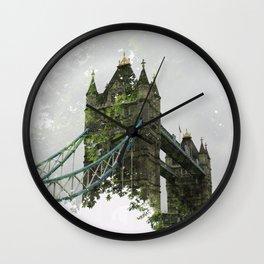 Tower Bridge in London Wall Clock
