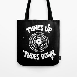 TUNES UP Tote Bag
