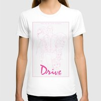 drive T-shirts featuring Drive by Matthew Bartlett