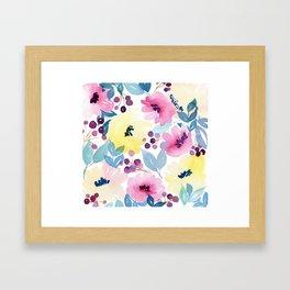 Tropical Poppies Framed Art Print