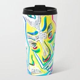 Blurred Emotions Travel Mug
