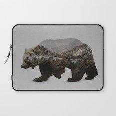 The Kodiak Brown Bear Laptop Sleeve