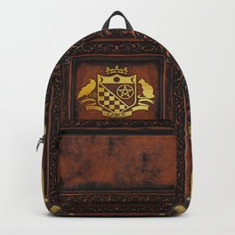 Cabot Gold Embossed Collection Backpack