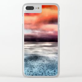Hudson Bay Canada Clear iPhone Case