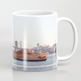 Staten Island Ferry to Manhattan Coffee Mug
