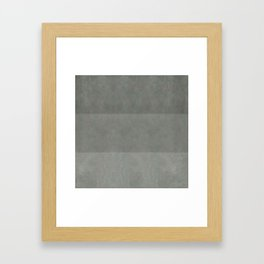 """Spring light grey horizontal lines"" Framed Art Print"