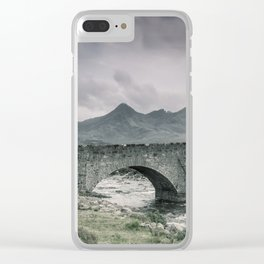 The Bridge and the Cuillin Clear iPhone Case
