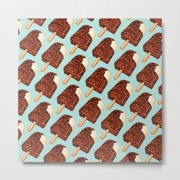 Popsicle Pattern - Ice Cream Metal Print
