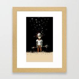 Wildy Framed Art Print