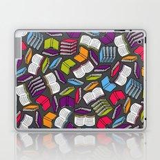 So Many Colorful Books... Laptop & iPad Skin