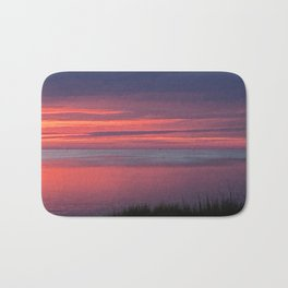 Dusk in the outer banks Bath Mat