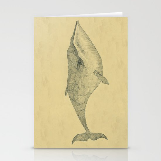 White Whale Stationery Cards