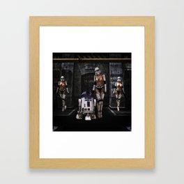 Sexy Sci-Fi 2 Framed Art Print
