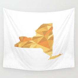 New York Pattern Map Art Wall Tapestry