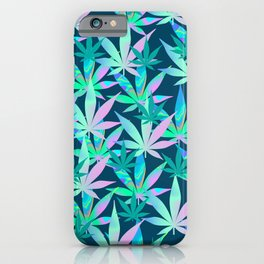 Holographic Marijuana iPhone Case