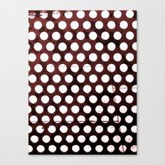 Metal Dots Canvas Print