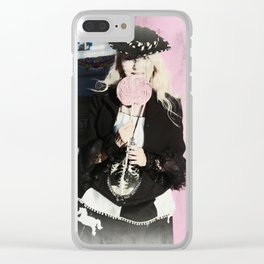 """""""Sweet Thang"""" by Vamplified Clear iPhone Case"""
