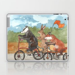 Bike Race Laptop & iPad Skin