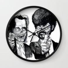 Zombie Fiction Wall Clock