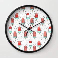 Cold Pops Wall Clock