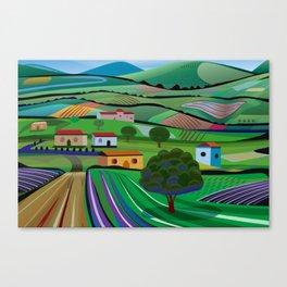 Santa Barbara Farms Canvas Print