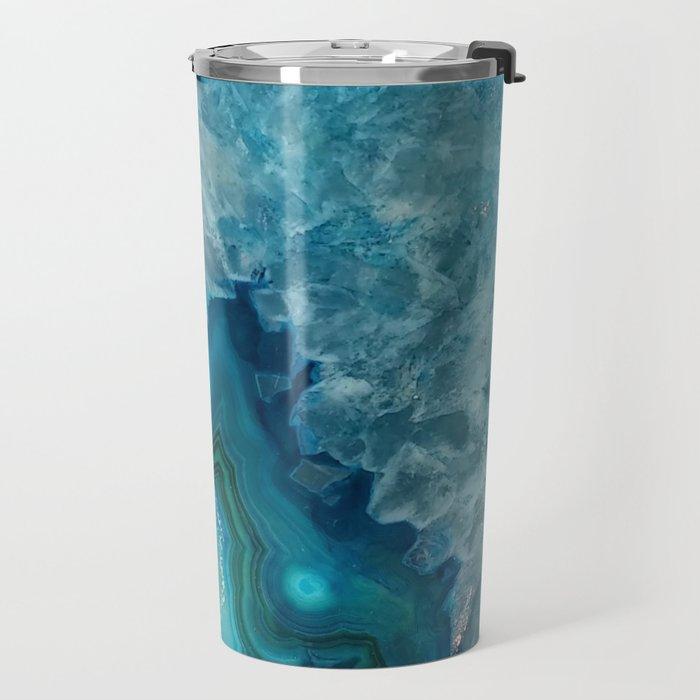 Agate Crystal Slice Travel Mug