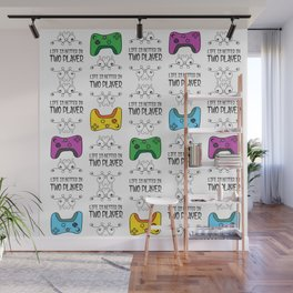 Life is better in Two Player Wall Mural